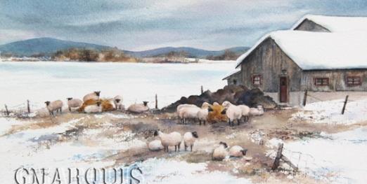 GMarquis_Les_moutons_du_rang_Labreche VENDU